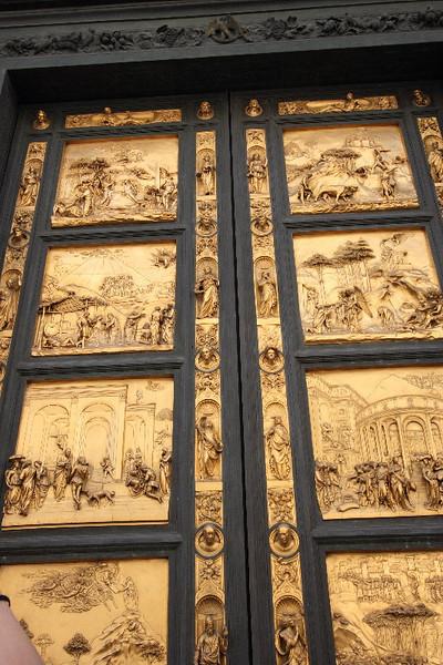 Florence: Ghiberti's Doors (Duomo Baptistry)