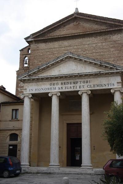 Castelnuovo Berardenga: Parish church of Saints Giusto e Clemente