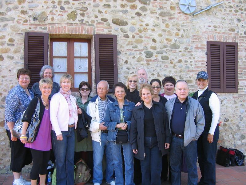 Castelnuova Berardenga: Villa Curina (last day)