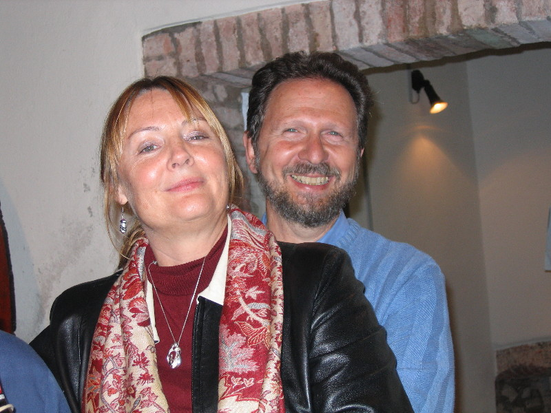 Florence:  Pam and Sam (Tour Directors)