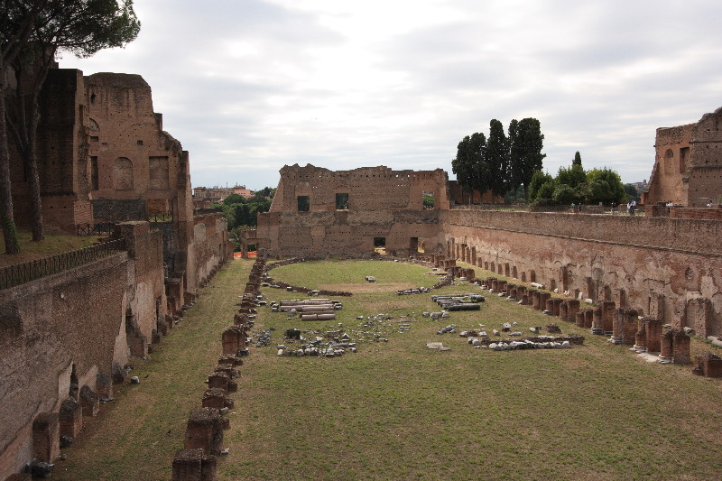 Roman Forum: Palatine Hill