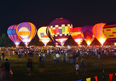 Plano Balloon Festival - Balloon Glow Want to buy a print of this image?  Click Here!