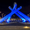 Visiting the Olympic Torch in Vancouver
