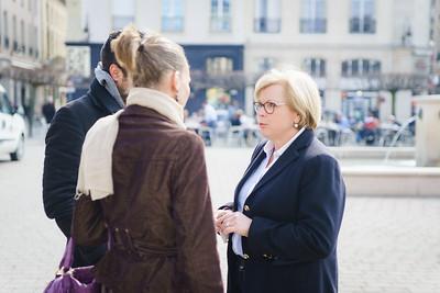 Catherine Vautrin : député de la deuxième circonscription de la Marne, vice-présidente de l'Assemblée nationale, présidente de Reims Métropole