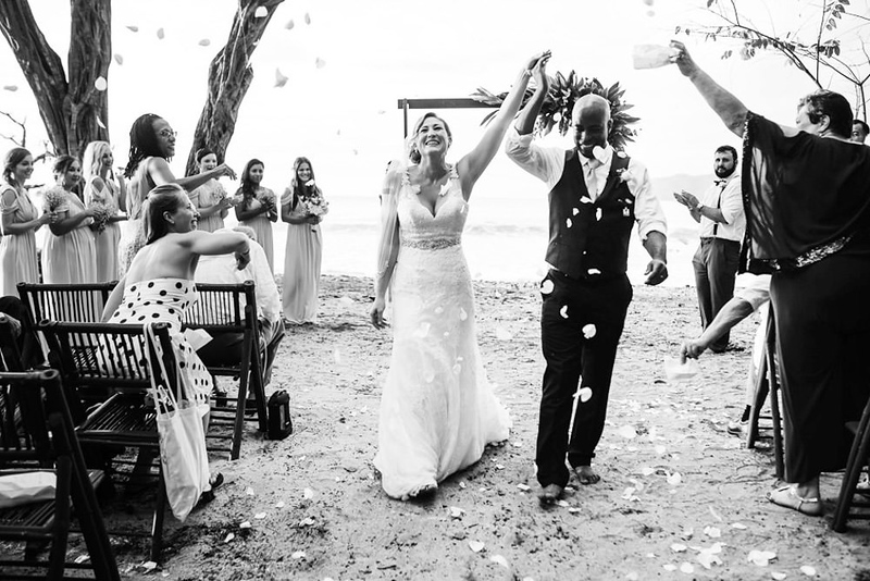 Langosta Beach Club Wedding Photography Tamarindo Costa Rica