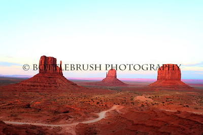 Monument Valley, Utah.  3rd place winner in the 2013 Scott AFB Arts and Crafts Art Show. Category - Photography.