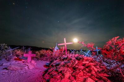 Ghost town graveyard, Terlingua TX