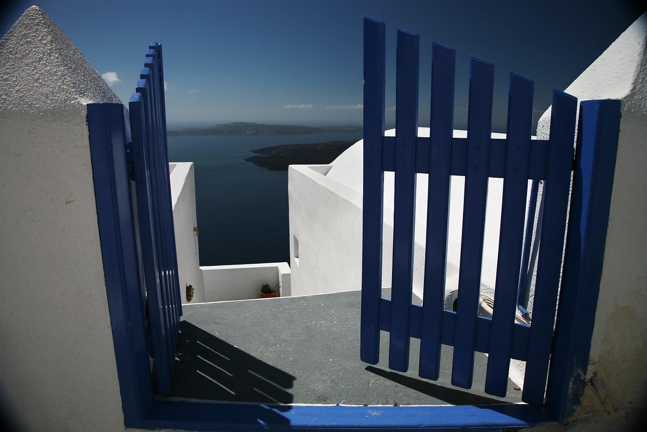 Gate Santorini Greece