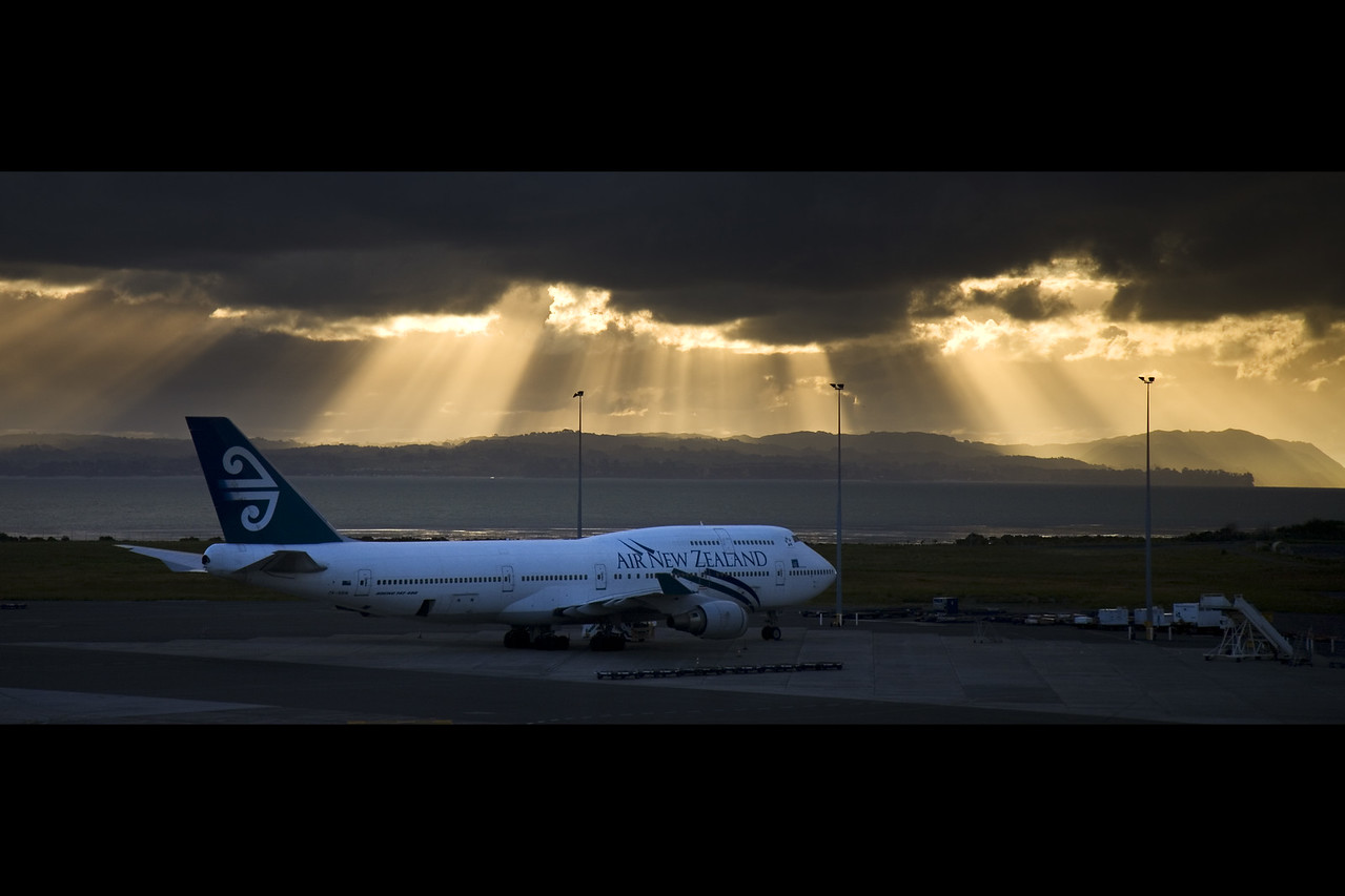 evening journey from auckland