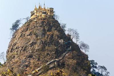 Mt. Popa, Bagan, Myanmar