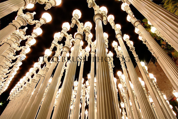 Urban Light Sculpture, Los Angeles