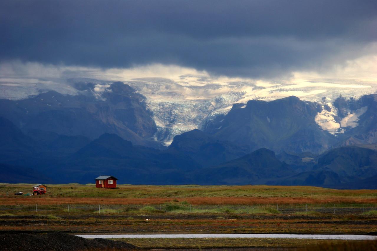 highway 1 road to vik iceland
