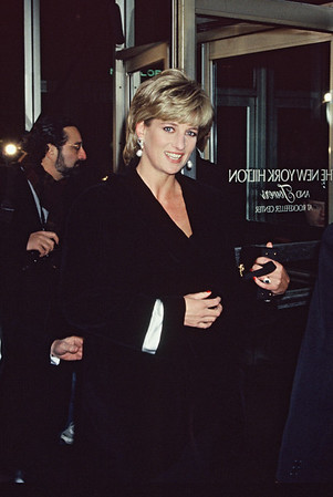 Lady Diana at the New York Hilton, 1995 Photo: James Higgins © 2020