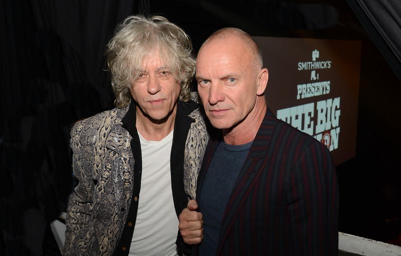 Sir Bob and Sting. NYC 2014