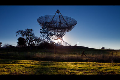 Stanford dish, California