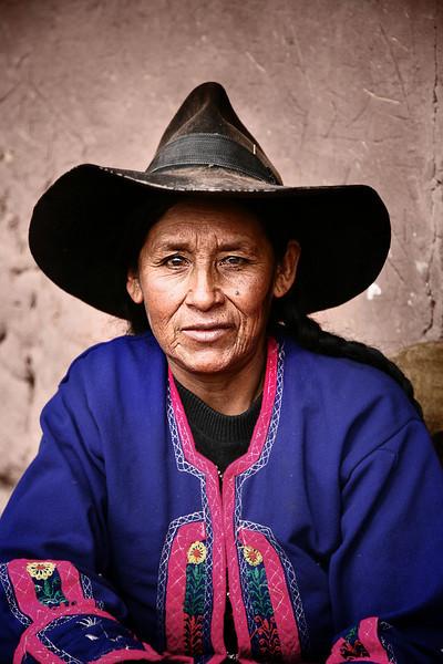 woman wiracocha peru