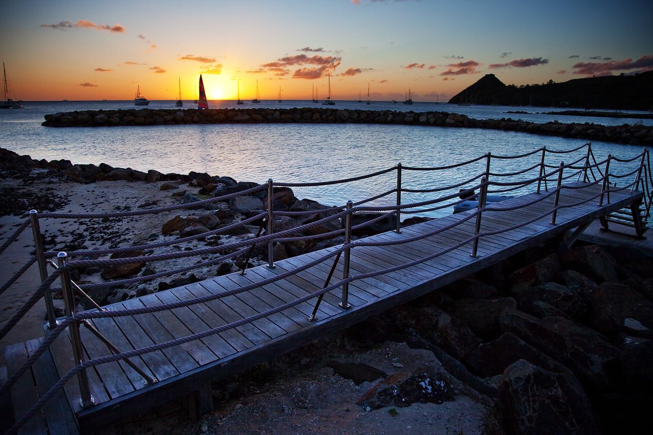 bridge sunset landings st lucia 2