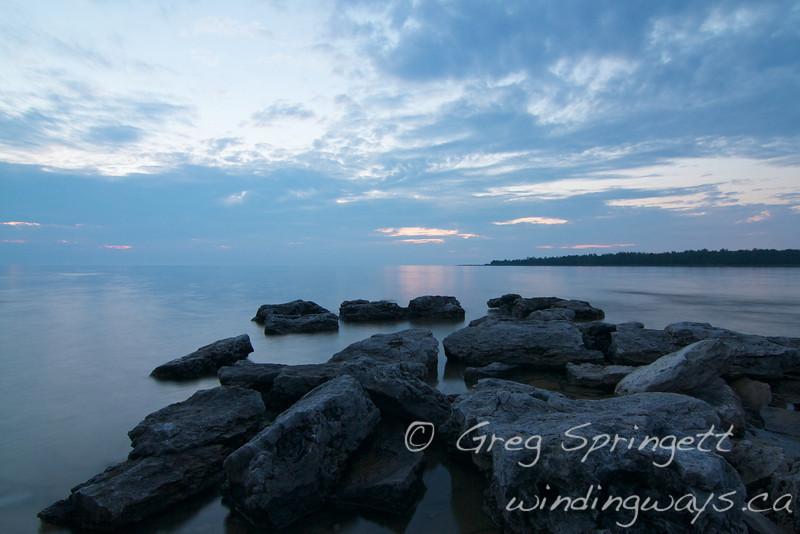 Twilight on the Rocks