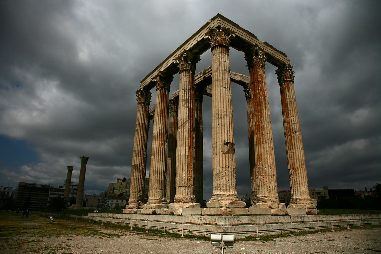 Temple of Zeus Athens Greece