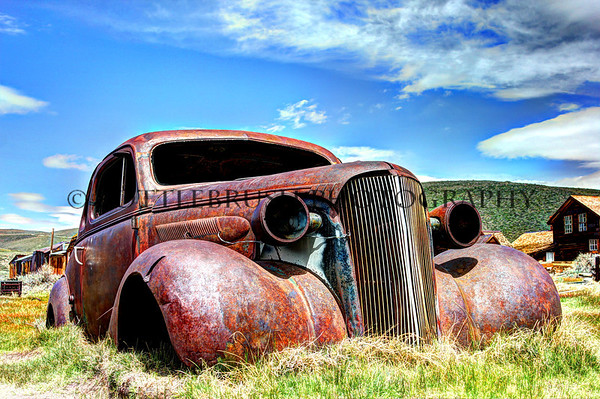 """Ghost Car of Bodie"" 1 of 2"