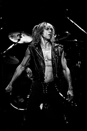 Iggy Pop, Boston 1988 James Higgins © 2020