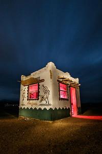 Derelict taco stand near Terlingua, TX