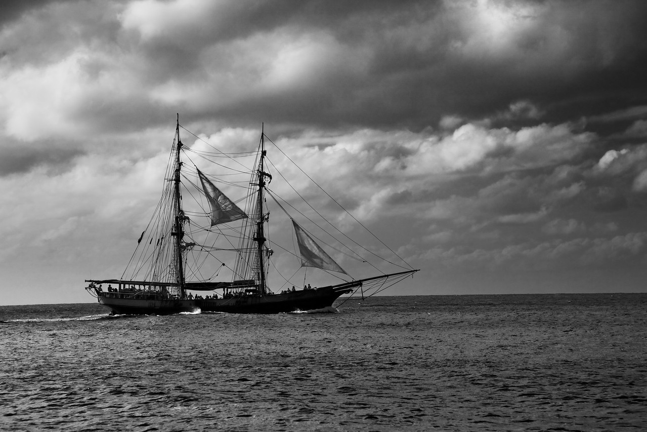 unicorn pirate ship off the port bow st lucia