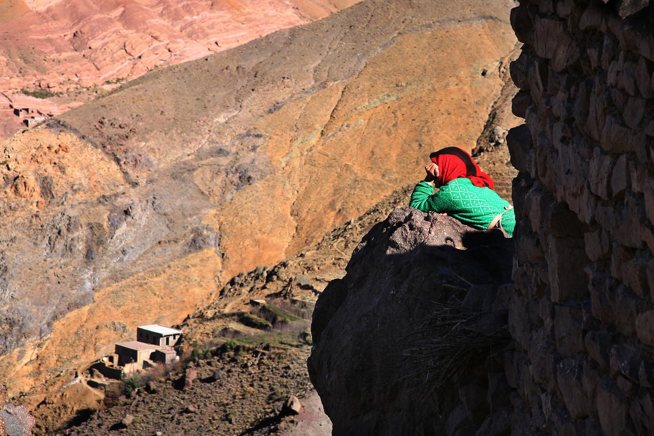 aroumd berber village 2 atlas mountains morocco