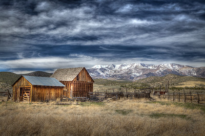 """Old Rustic Barn"" Travel Photography"