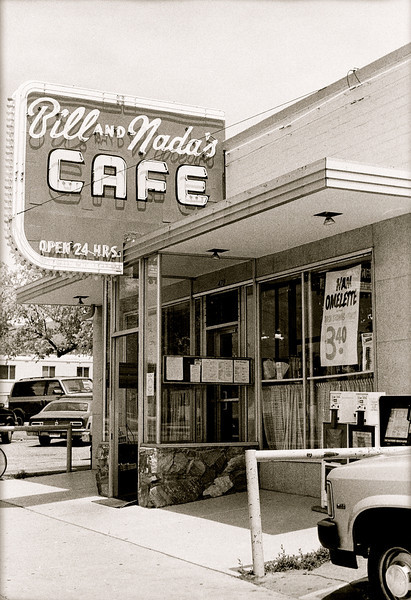 Bill and Nada's Cafe<br /> circa 1993