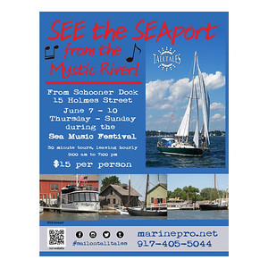 Event flyer Sail On Tall Tales