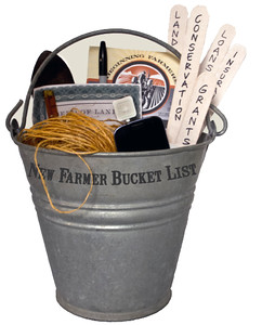 New Farmer Bucket List-outlines