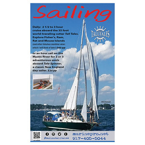 11 x 14 flyer (laminated) Sail On Tall Tales