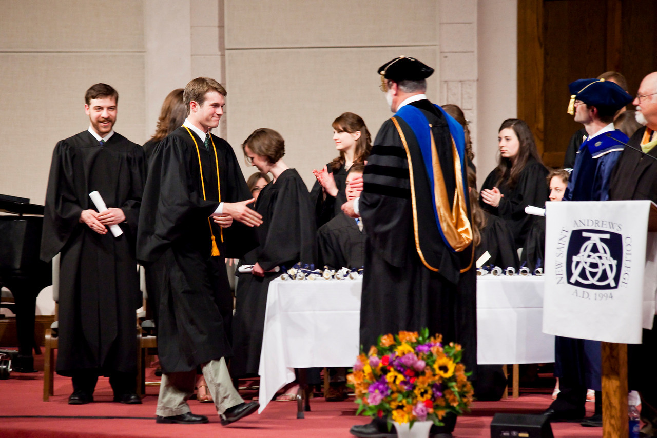 Proofs from the NSA Commencement 2010 Assignment