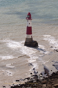 The lighthouse at Beachy Head.