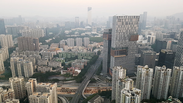 Waking-up in Shenzhen...