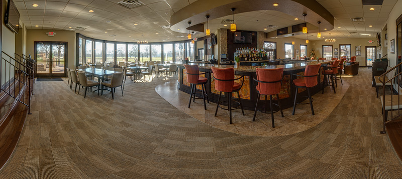 SHCC Pavilion Bar<br /> 180 degree Panorama<br /> <br /> ©2010 JR Howell. All Rights Reserved.<br /> <br /> JR Howell<br /> 1812 37th Street Ct<br /> Moline, IL 61265<br /> JRHowell@me.com