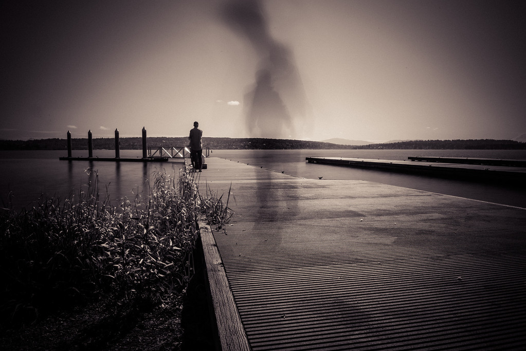 The Ghost on the Pier