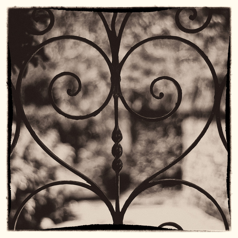 Wrought Iron Heart<br /> Aug 19th: Wrought Iron Heart