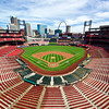 Busch Stadium home of the St. Louis Cardinals