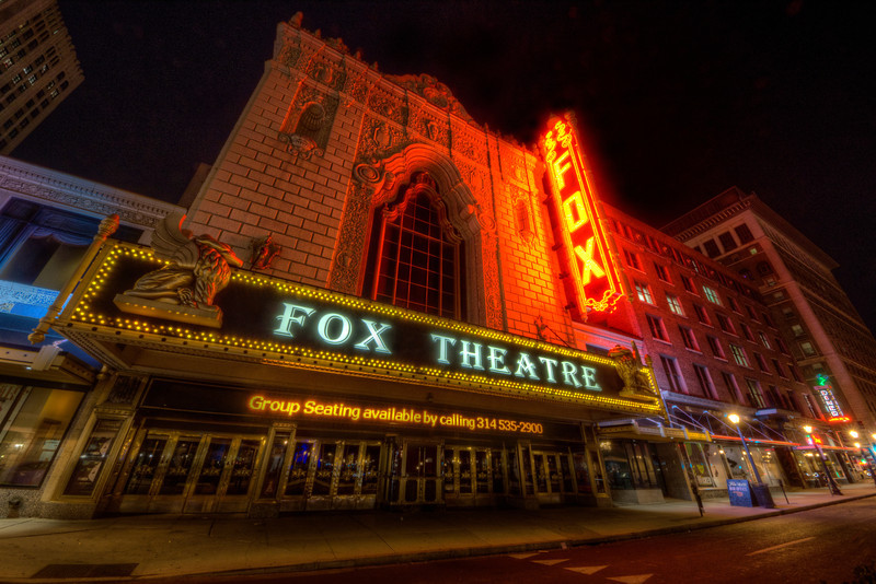 The Fabulous Fox Theater St. Louis, Mo
