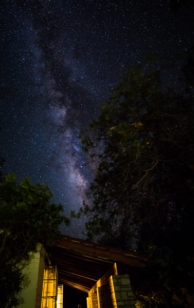 """Milky Way Above Cabin 103"""