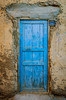 An old door in the village of Bawati, Egypt.