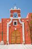 Exterior of the Fundador Mansion in Arequipa, Peru.