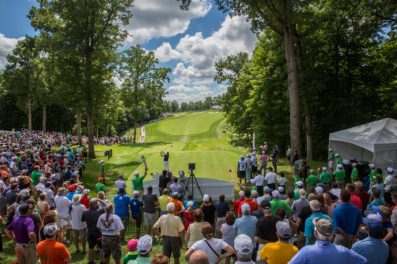 John Deere Classic - Round 3 / Day 3 (Saturday) - Zach Johnson tees off of #1 to start the third round.