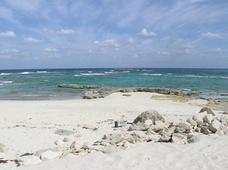 Nassau, The Bahamas looking east...