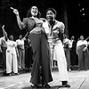 Jennifer Holliday, Cynthia Erivo, and cast of The Color Purple