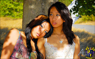 Mae Tila de Leon and Jestine Quinto-Tila