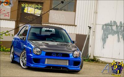 Armin H. Ausejo's Subaru Impreza WRX