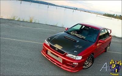 Erik Allas' Subaru Impreza 2.5RS for Subiesport Magazine